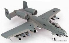 Fairchild Republic Thunderbolt II ( Warthog ) Scale Diecast Metal Airplane by Hobby Master Plastic Model Kits, Plastic Models, Camouflage Colors, Military Aircraft, Airplane, Diecast, Fighter Jets, Scale, Buses