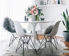15 Stunning Modern Dining Room Furniture Ideas - where the family comes together to enjoy a meal in each other's company. Contemporary day dining room furniture promotes this aspect by bringing the family closer together.