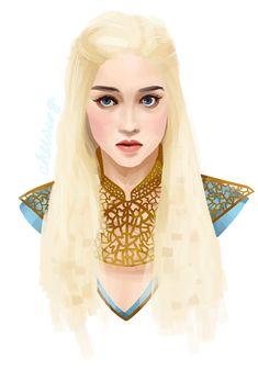 Khaleesi by ~gitchoo on deviantART. One of my favorite costumes.