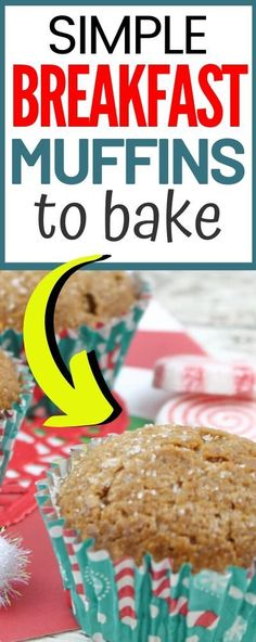 Are you looking for easy breakfast muffins for the morning? These are simple del. Are you looking for easy breakfast muffins for the morning? These are simple delicious and a great Easy Snacks For Kids, Healthy Meals For Kids, Quick Easy Meals, Kids Meals, Easy Breakfast Muffins, Instant Pot, Christmas Morning Breakfast, Baking Muffins, Hearty Recipe