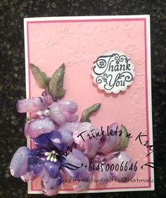 Card made with Sospeso Trasparente