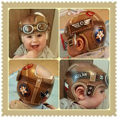 Aviator Customized Wraps For Cranial Helmets Pinterest