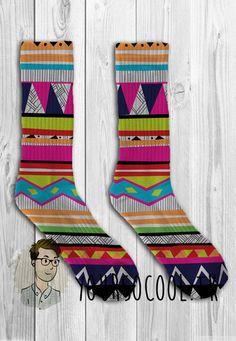 Aztec Pattern Unisex Adult Socks – YeahWhateverz