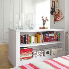 space saving interior design and decorating with storage furniture