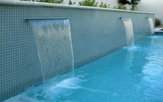 Swimming Pools in Small Spaces : Alpentile Glass Tile Pools and Spas