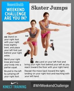 Skater Jumps. This dynamic exercise will blast away cellulite, tighten your tush