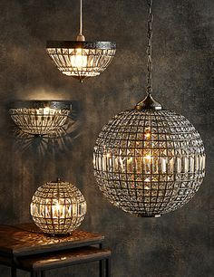 Buy the Gem Ball XL Ceiling Pendant from Marks and Spencer's range. Lounge Ceiling Lights, Lounge Lighting, Flush Ceiling Lights, Ceiling Pendant, Pendant Lamp, Entryway Lighting, Living Room Lighting, Home Lighting, Ceiling Light Fittings