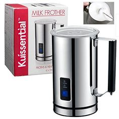 Kuissential Deluxe Automatic Milk Frother and Warmer Cappuccino Maker *** Visit the photo link even more details. (This is an affiliate link). Pumpkin Spiced Latte Recipe, Pumpkin Spice Latte, Specialty Appliances, Small Appliances, Kitchen Appliances, Kitchen Utensils, Bad Room Ideas, Coffee Maker Reviews, Kitchen Reviews
