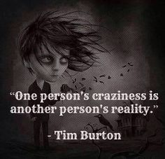 tim burton quote More