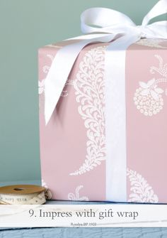 Impress with gift wrap - pictured Rosslyn BP 1922