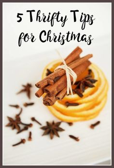 5 Thrifty Tips for Christmas - for people trying to do Christmas on a budget here are some great tips to help you have a frugal Christmas time where Money saving does not mean less fun!