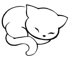 Cute cat #tattoo #cat #cute