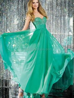 A-line Chiffon Sweetheart Beading Ankle-length Formal Dresses-AUD$ 190.49 | http://instyletoday.co.uk/