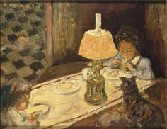 Pierre Bonnard - The Lunch of the Little Ones