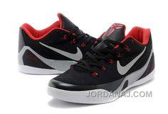 http://www.jordanaj.com/nike-kobe-9-low-mens-black-red-discount.html NIKE  KOBE 9 LOW MENS BLACK RED DISCOUNT Only $119.00 , Free Shipping!