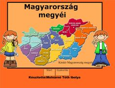 Fotó itt: Magyarország megyéi interaktív tananyag - Google Fotók Hungary, Kids Learning, Science, Album, Teaching, Education, Signs, School, Creative