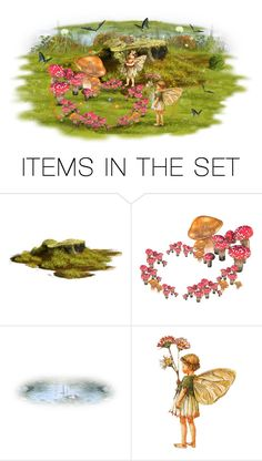 """""""Fairy Ring"""" by joy2thahworld ❤ liked on Polyvore featuring art, forest, fairy, magic and fairies"""