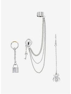 steampunk ear wrap 'time keeper' - bronze & black ear wrap, gear ear cuff, no piercing steampunk ear cuff, steampunk jewelry, gift for her - Custom Jewelry Ideas Ear Jewelry, Cute Jewelry, Bridal Jewelry, Jewelery, Jewelry Accessories, Trendy Jewelry, Gold Jewellery, Jewelry Necklaces, Kpop Earrings