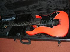 #1 - 1987 Ibanez RG550 in road flare red