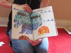"Teach Preschool : Reading Eric Carle's ""I See A Song"" and activity..."
