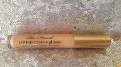Too faced lip injection gloss.