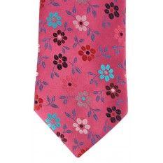 Duchamp Fraise Burns Floral Tie - #mens #ties #tie