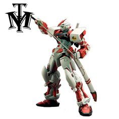Daban Gundam Toys MG 1/100 Red Seed Astray Assemble Action Figure Double Sword Fighting Robot brinquedo menino attached Bracket
