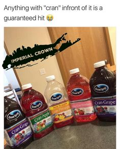 Anything with cran infront of it is a guaranteed hit - Imperial Crown Entertainment Yummy Drinks, Yummy Food, Tasty, Junk Food Snacks, Fact Quotes, Food Cravings, Body Care, Love Food, Snack Recipes