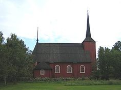 The Ulrika Eleonora wooden church, Kristinestad, on the Finnish southwest coast.
