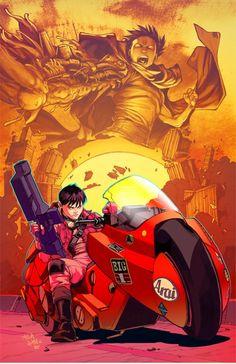 Kaneda by Carlos Gomez Teodoro Gonzalez Akira Manga Anime, Manga Art, Anime Art, Full Hd Wallpapers, Animes Wallpapers, Comic Books Art, Comic Art, Akira Anime, Comics Illustration