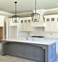 Modern Kitchen Interior Remodeling NEW Authentic Visual Comfort Darlana Chandelier Mini Pendant 2175 Open Cage Classic Kitchen, Rustic Kitchen, Diy Kitchen, Kitchen Decor, Kitchen Ideas, Kitchen Inspiration, Kitchen Hacks, Awesome Kitchen, Eclectic Kitchen