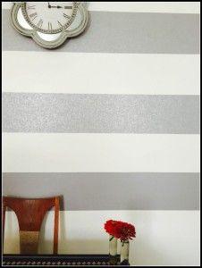 wallpaper stripe wall closeup