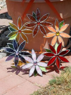 Hey, I found this really awesome Etsy listing at http://www.etsy.com/listing/151541538/stained-glass-wreath-with-flowers-leaves