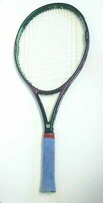 Wilson Nemesis Tennis Racquet Iv Oversize 4 3 8 Grip Purple Tennis Rackets Tennis Racket