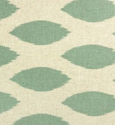 Chipper Eaton Blue / Linen | Online Discount Drapery Fabrics and Upholstery Fabric Superstore!