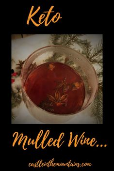 This Keto friendly mulled wine tastes and smells like the holidays. It will warm you from the inside out and make your house smell wonderful! Low carb and delicious. Wine Recipes, Keto Recipes, Keto Foods, Keto Wine, Keto Cocktails, Keto Holiday, Ketosis Diet, Diet Plan Menu, Mulled Wine