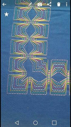 Swedish Embroidery, Geometric Embroidery, Creative Embroidery, Cat Cross Stitches, Embroidery Stitches, Embroidery Patterns, Hand Embroidery, Swedish Weaving Patterns, Monks Cloth