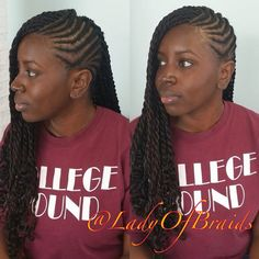 OMG When you use my pic please make a shout out @ladyofbraids Dope Hot Neat Protective hairstyle  cute Ghana feed in cornrows feeding goddess braids for beautiful  black women long braided Senegalese Twists with kinky twists weave extension for natural hair black women African hair braiding