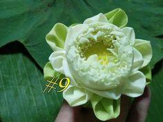 Flower Decorations, Wedding Decorations, Lotus Art, Lotus Pond, Floral Arrangements, Flower Arrangement, Color Shades, Flower Crafts, Paper Flowers