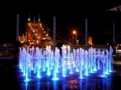 One of many fountains at the Smale Riverfront Park (Cincinnati, OH)