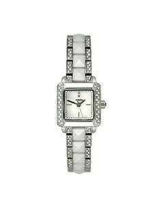 Fossil Ceramic Three Hand Mother-of-pearl Dial Women's watch #CE1019: Watches: Amazon.com