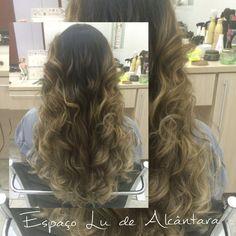 Mechas. Hombrè hair. Luzes. Highlights.