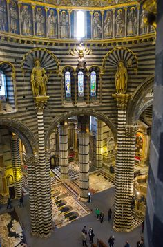 design-dautore.com: The gateway to heaven: Secret walkways and attic rooms open in roof of Siena Cathedral