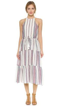 Derek Lam 10 Crosby Tapestry Maxi Dress
