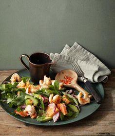 Minze, Chili und Limette geben den Ton an und fügen sich mit Garnelen, Gurke und Papaya zum genialen Ganzen. Frisch, feurig, fruchtig!