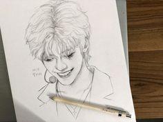 Kpop Drawings, Art Drawings, Dream Anime, Sun Projects, Dream Drawing, Nct Dream Jaemin, Human Drawing, Na Jaemin, Dream Art