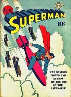 #old #propagande #comics #superman