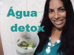 Água detox (sass) Ajuda a emagrecer e eliminar o inchaço da barriga.