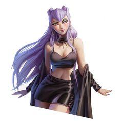 Evelynn League Of Legends, League Of Legends Characters, Lol League Of Legends, Female Character Design, Character Art, Fantasy Characters, Female Characters, Akali Lol, Liga Legend