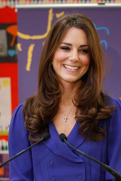 Kate Middleton. hair perfection.